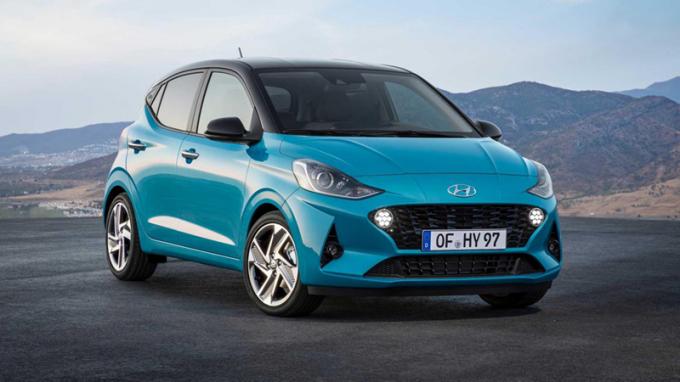 """Cận cảnh Hyundai i10 2020 """"lột xác"""" hoàn toàn so với thế hệ trước"""