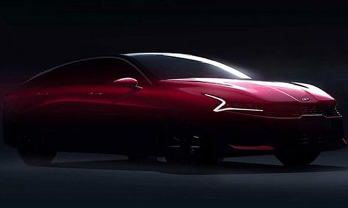Kia Optima 2021 thế hệ mới lộ diện
