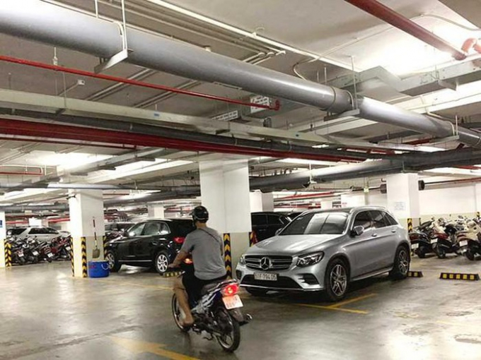 Băn khoăn đề xuất cấm để xe trong hầm chung cư