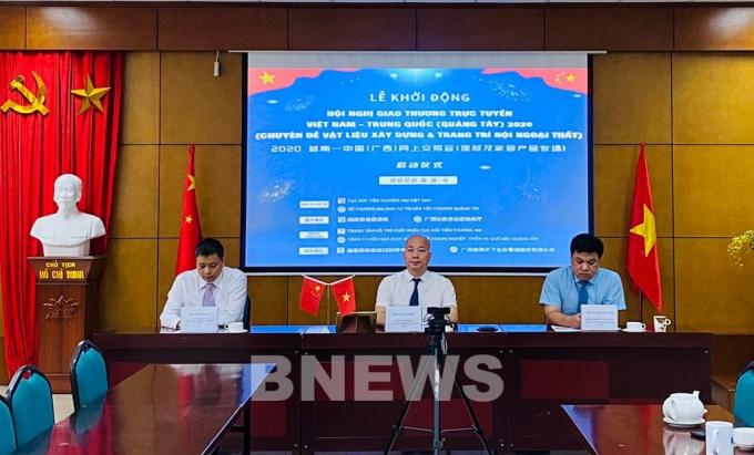 Kết nối giao thương doanh nghiệp Việt Nam và Quảng Tây (Trung Quốc)