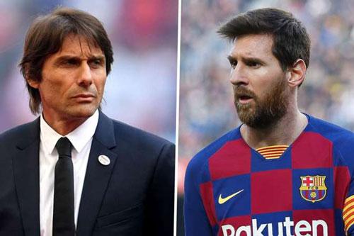 HLV Conte nói gì về việc Inter muốn mua Messi?