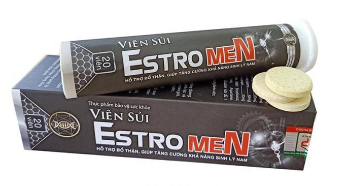 Thực phẩm bảo vệ sức khỏe Viên sủi Estromen có dấu hiệu lừa dối người tiêu dùng