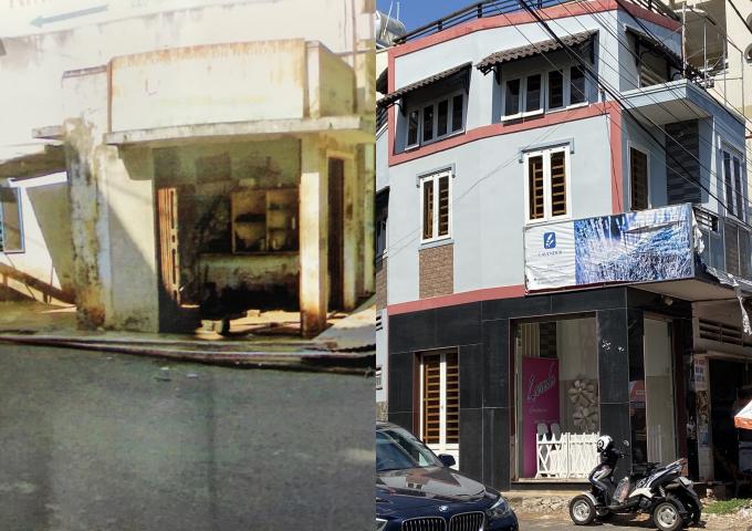 """Dễ dàng """"hô biến"""" kiot 4m2 thành căn nhà 3 tầng lấn chiếm vỉa hè ở TP Long Khánh"""