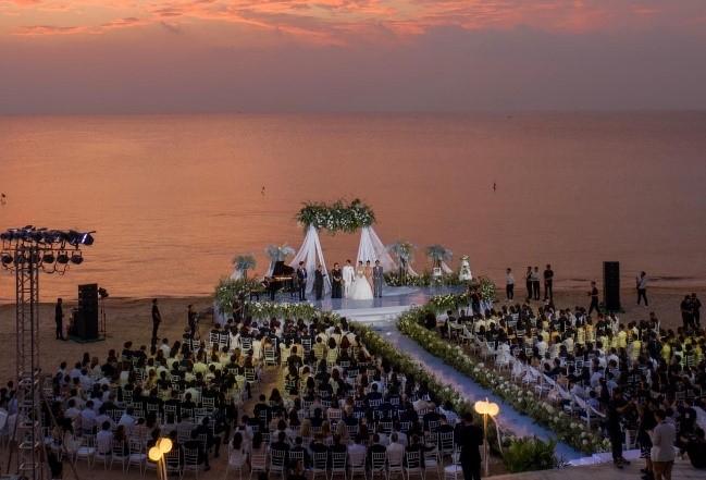 Bật mí bí mật hậu trường đám cưới siêu sang của Đông Nhi – Ông Cao Thắng tại Vinpearl Phú Quốc