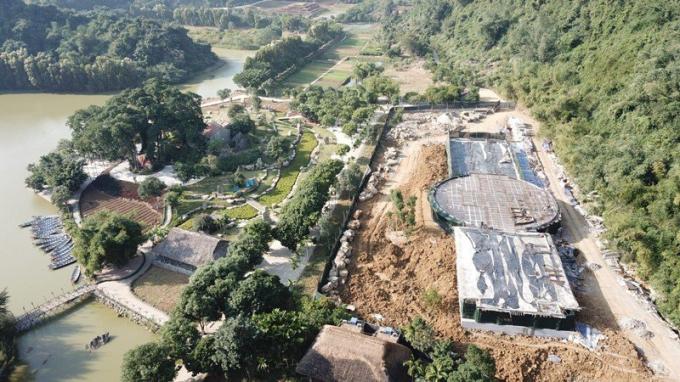 Xây công trình trong vùng lõi Tràng An: Công ty Doanh Sinh chậm trễ tháo dỡ, xin giữ lại vi phạm