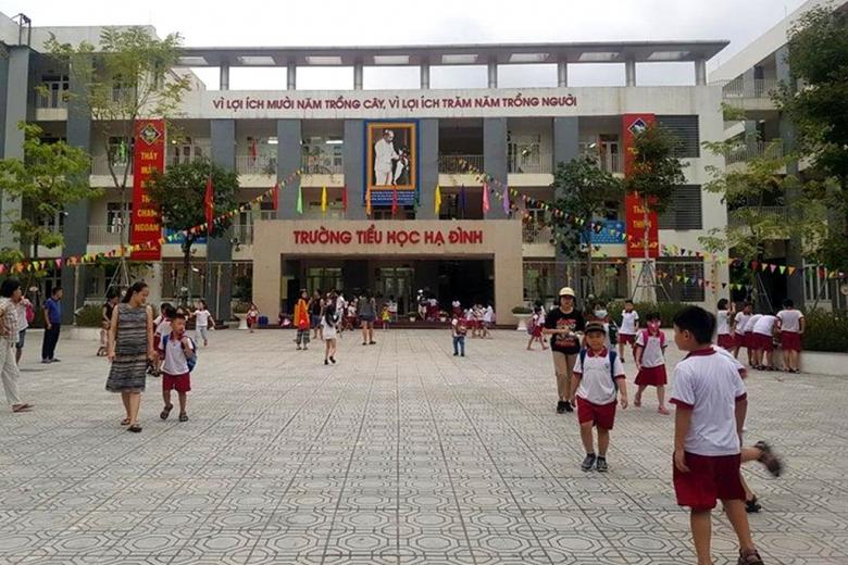 Trường Tiểu học Hạ Đình (Hà Nội): Hủy thầu nhưng vẫn ký hợp đồng với nhà thầu