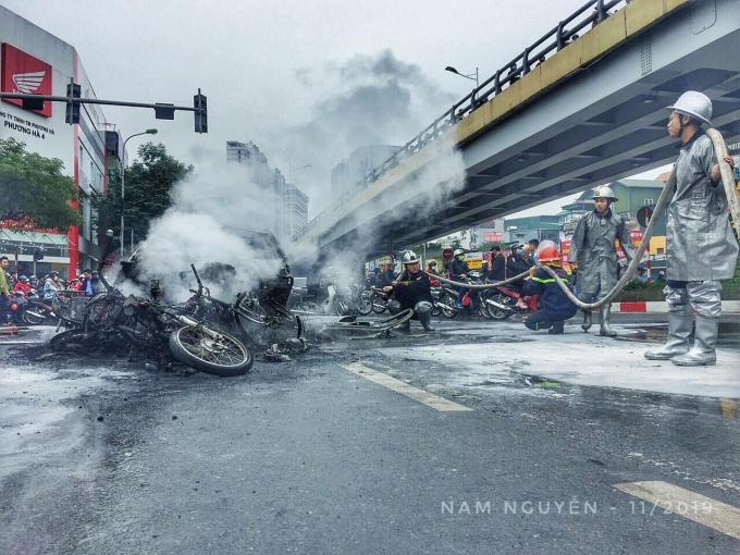 Thông tin mới nhất vụ tài xế lái Mercedes tông 3 xe máy khiến 1 người tử vong