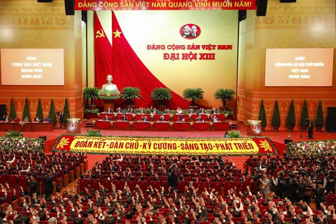 Ngày mai (28/1), Đại hội XIII nghe báo cáo về công tác nhân sự