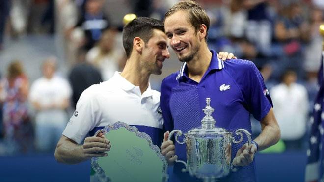 Daniil Medvedev giành CUP vô địch US Open 2021
