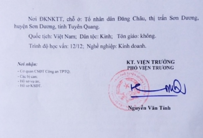 Vụ án liên tục bị kêu oan tại Tuyên Quang: Thêm một lần lên lịch mở phiên toà xét xử